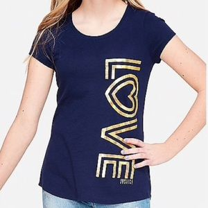 Justice Love Graphic Tee
